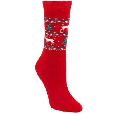 """Weihnachtssocken """"Cosy Christmas Red"""""""